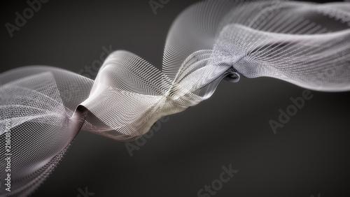 abstrakcyjne kształty fal