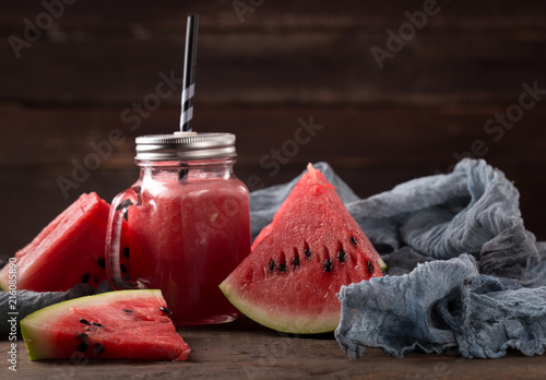 Canvas Sap watermelon smoothie