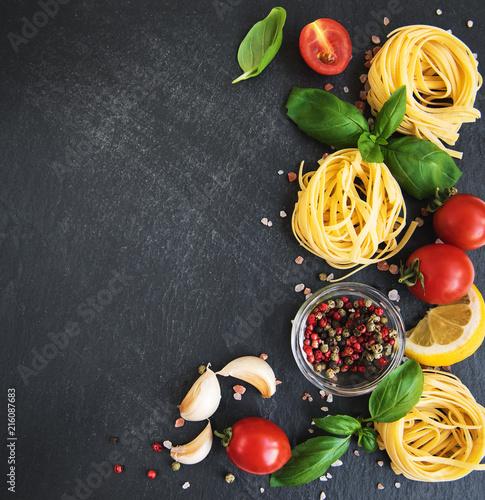 Włoskie składniki żywności