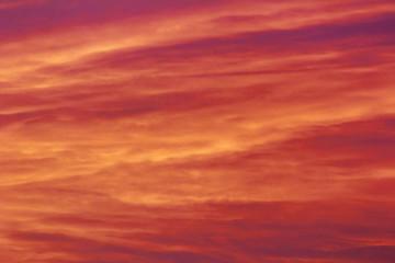 Sunset in the evening sky © Edler von Rabenstein