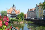 Stare miasto w Gdańsku latrem, Pomorze/The old town in Gdansk by summer time, Pomerania, Poland