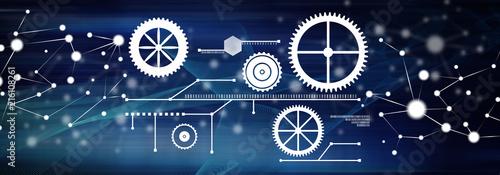 Concept of digital technology