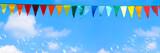 sommerlicher party hintergrund panorama