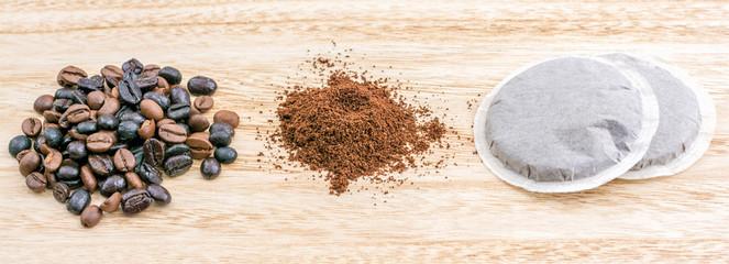 Verarbeitung von Kaffee in verschiedenen Produkten © Ralf Geithe