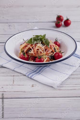 Foto Murales fresh spaghetti