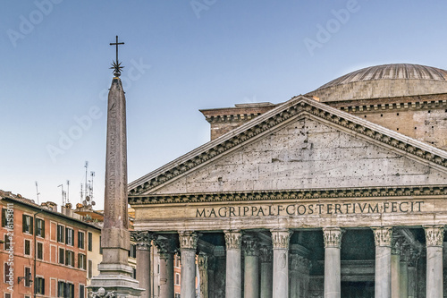 Pantheon Exterior View, Rome, Italy