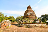 Old Thai Ruins, Ayutthaya, Beautiful photo picture taken in thailand, Asia