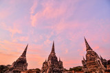 Old Thai Ruins, Ayutthaya, Beautiful photo picture taken in thailand, Asia - 216158677