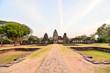 Leinwandbild Motiv Beautiful photo of phimai thai ruins taken in thailand, Asia