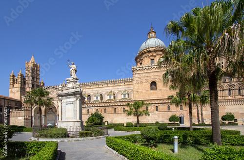 In de dag Palermo Palermo cathedral, Italy