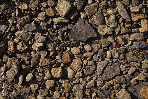 Aluminium Stenen Small Rocks Texture
