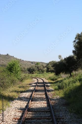 Foto Spatwand Spoorlijn Antiga Linha do Tua, Portugal