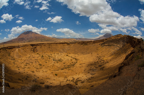 Oldonyo Tengai monte vulcano inattivo in Tanzania