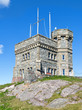 Cabot Tower on Signal Hill in St. John's, Newfoundland and Labrador