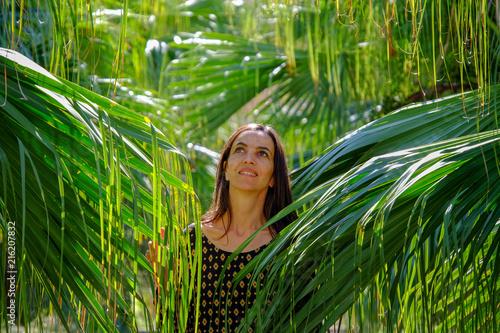 In de dag Palermo Portrait au jardin botanique de palerme