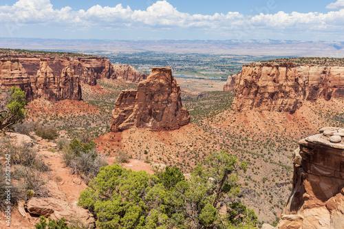 Scenic Colorado National Monument Landscape