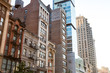 Historic buildings along 23rd Street in Manhattan New York City