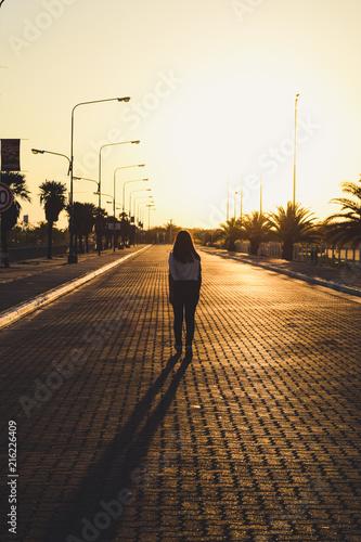 In de dag Nacht snelweg Caminar