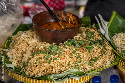mie goreng in traditional street food - 216231298