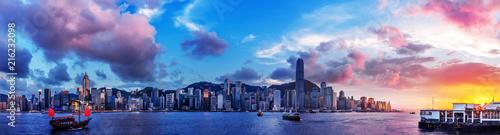 obraz PCV Hong Kong Harbor View