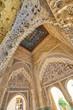 Arabesque Moorish architecture Interior of the Palacios Nazaries, Alhambra de Granada,  Granada, Andalusia, Spain, Europe