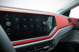 close up of a car infotainment system