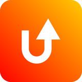 Colorido icono ilustrado para negocios y web con flecha - 216259674