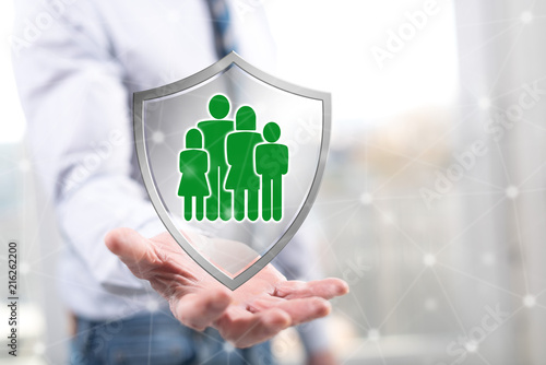 Concept of family protection