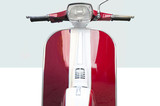 scooter italiano vintage  rosso - 216267629