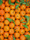 background of Sicilian clementines