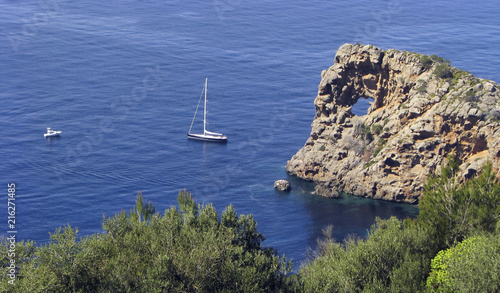 Leinwanddruck Bild Punta de Sa Foradada