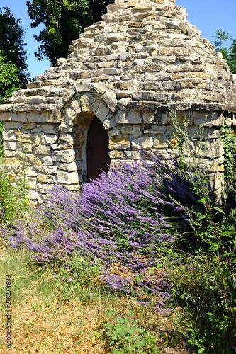 Canvas Lavendel cabannes pierres séche lavande 5