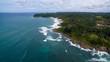 Quadro Aerial view of Itacare, Bahia, Brazil
