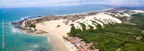 Dunes of Genipabu, Natal, Rio Grande do Norte, Brazil - 216285803