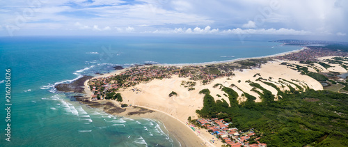 Dunes of Genipabu, Natal, Rio Grande do Norte, Brazil - 216285826