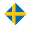 Flag of Sweden participant of the Europe football competition.