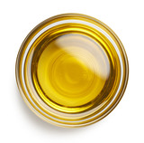 Bowl of extra virgin olive oil