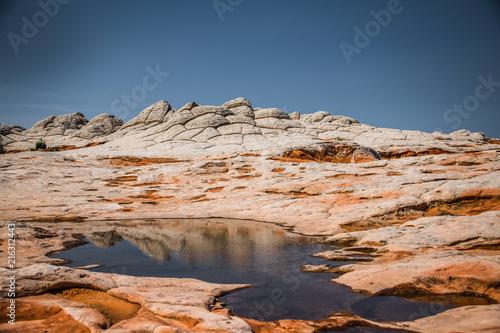 Foto Spatwand Zalm White Pocket 5