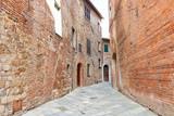 Street of Montepulciano, Tuscany