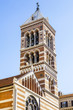 Quadro ROME, ITALY, on March 11, 2017. Old bell tower