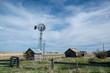 Abandoned Prairie Homestead near Carseland, Alberta, Canada.