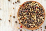 Peppercorn of different kinds - 216372662