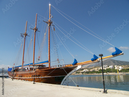 In de dag Schip Traditional Sailing Ship