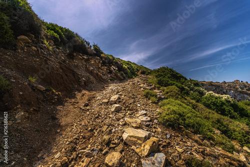Leinwanddruck Bild Im Zauber der griechischen Landschaft