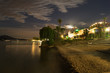 Panorama notturno sul lago - 216404613