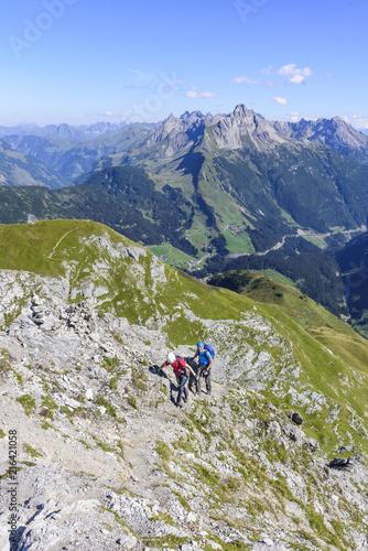 Foto Murales Klettersteig-Tour im Hochgebirge