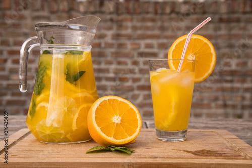 Canvas Sap Selbstgemacht Limonade