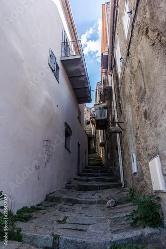 Aluminium Smalle straatjes Corsican Street
