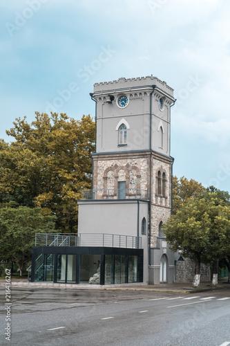 Foto Murales old clock of tover in Poti, Georgia