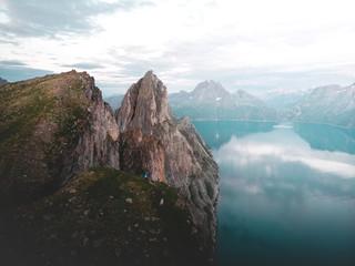 Segla mountain in Norway © Kasper Garam
